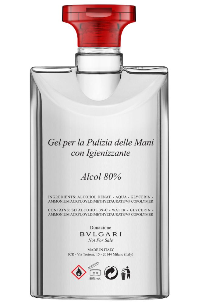 Gel hydro-alcoolique Bvlgari