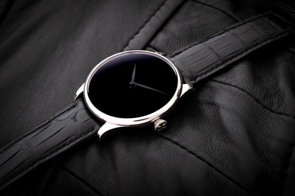 Venturer Vantablack Black Hands XL acier de 43 mm