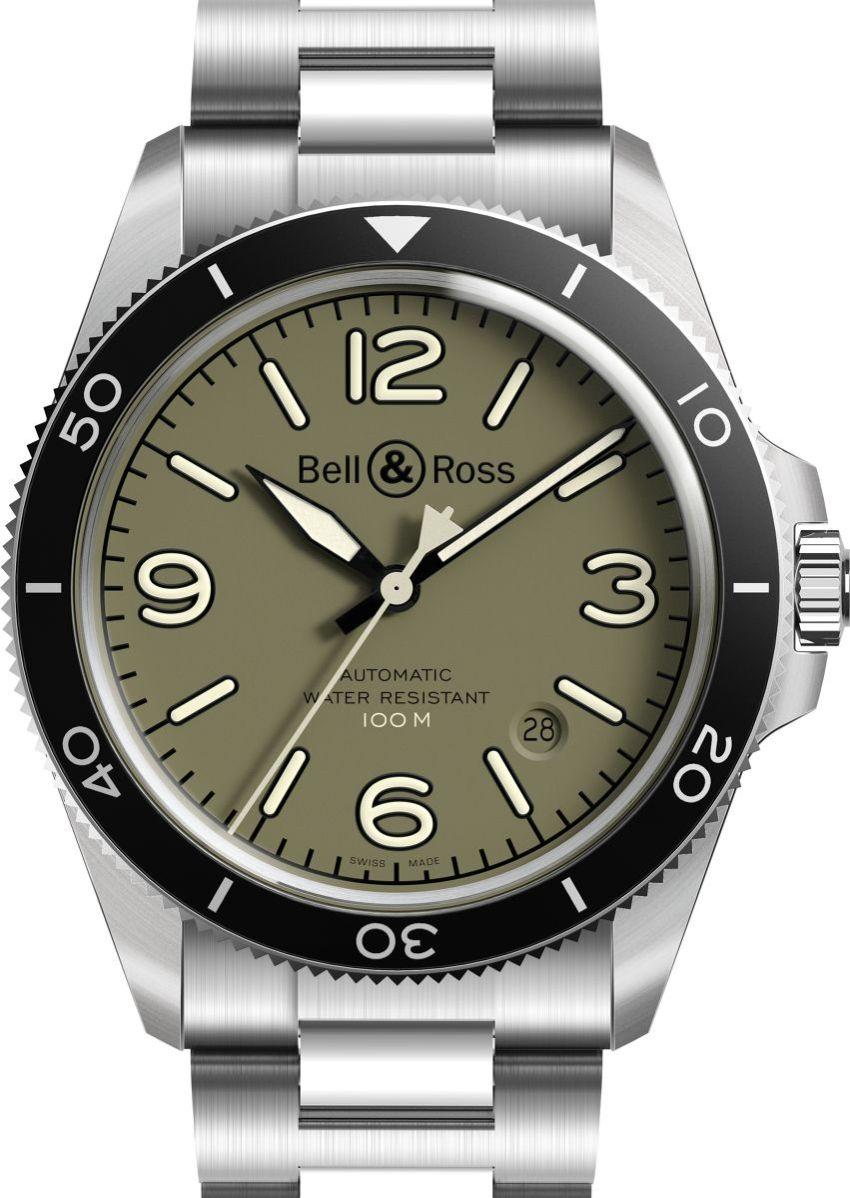 Bell & Ross V2-92 Military : du kaki pour un esprit militaro-urbain