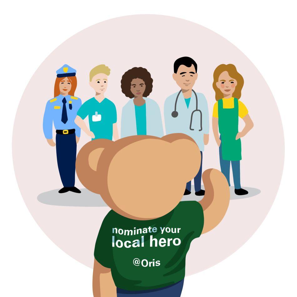 Covid-19 : 50 montres Oris pour remercier les héros du quotidien qui luttent contre l'épidémie