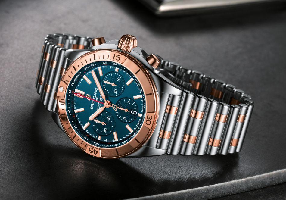 Breitling : le retour du fameux Chronomat !