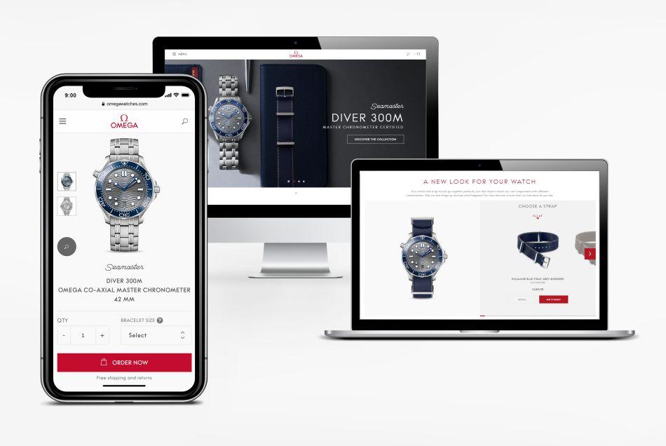 Omega : lancement de son site de vente en ligne en Europe