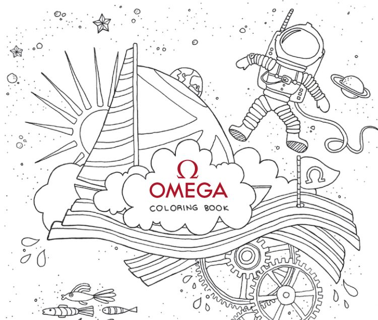Omega Coloring Book