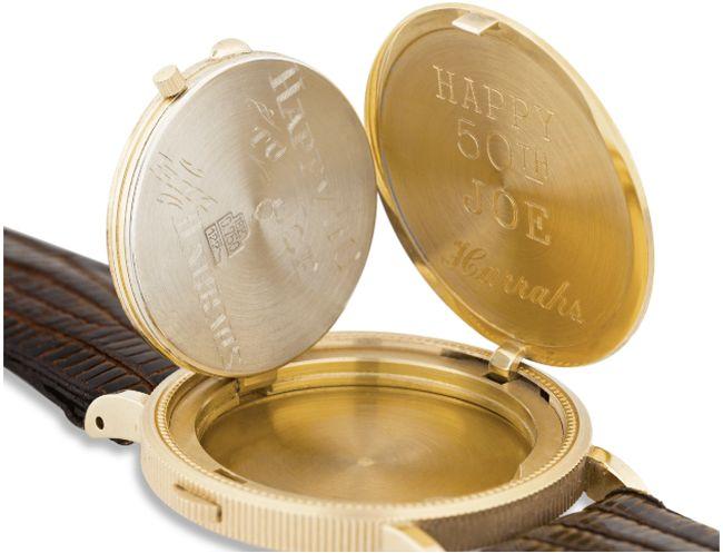 """La montre """"coin"""" Eska de Joe DiMaggio mise en vente par la maison M.S. Rau"""