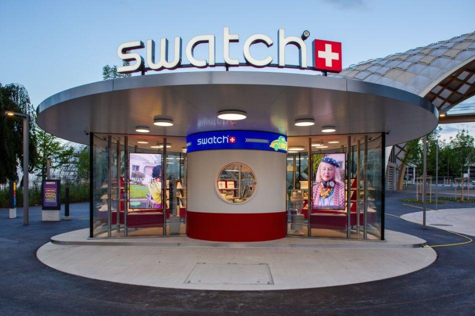 Swatch Drive-Thru