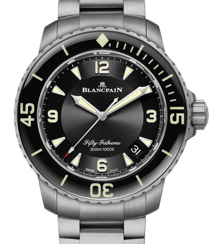 Blancpain Fifty Fathoms : nouvelle version sur bracelet titane
