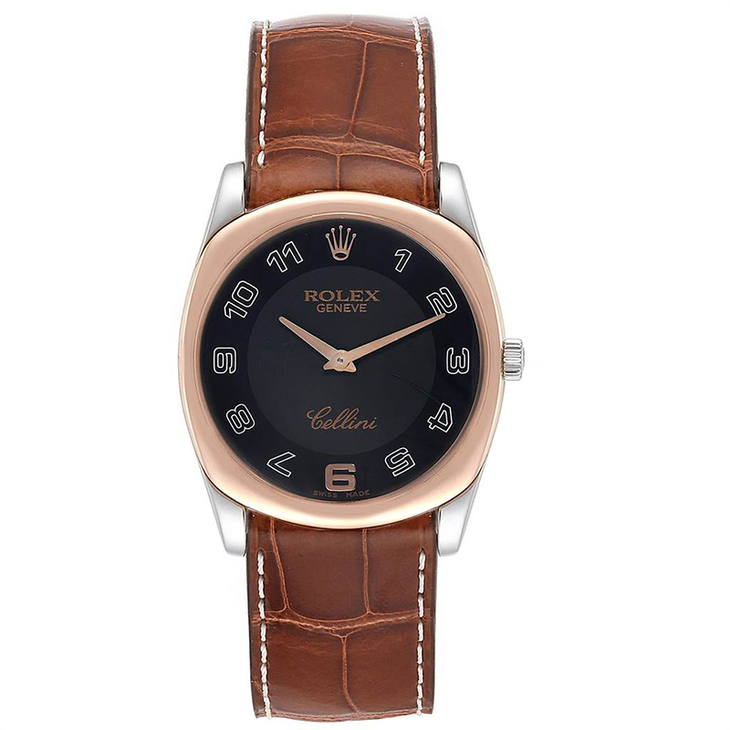 Rolex Cellini Danaos sur bracelet sur-mesure ABP