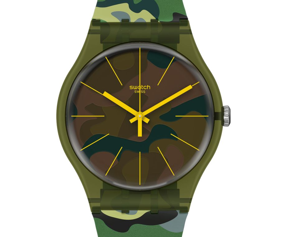 Swatch Essentials Camouforest