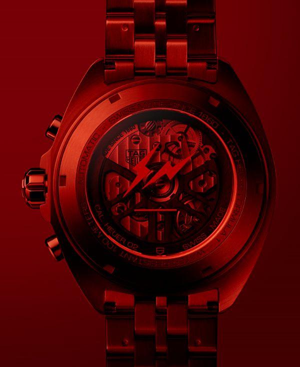 TAG Heuer x Fragment Design Heuer 02 chronographe : nouvelle collab' avec Hiroshi Fujiwara