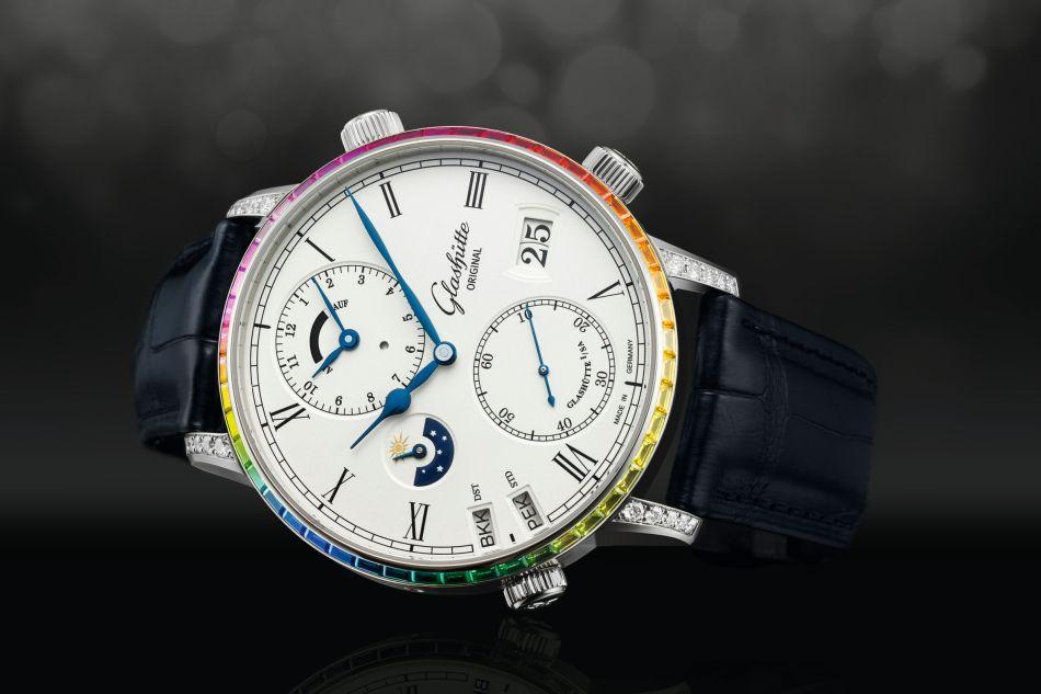 Chez Glashütte Original, la personnalisation de votre montre, c'est possible
