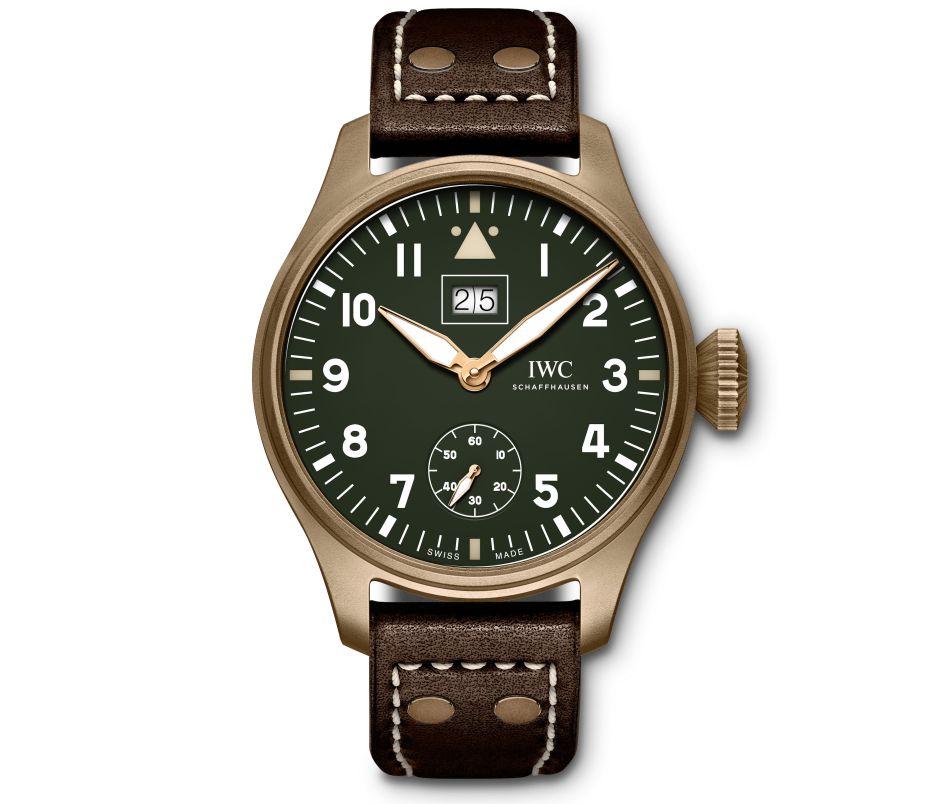 IWC Montre d'Aviateur édition spéciale Silver Spitfire The Longest Flight