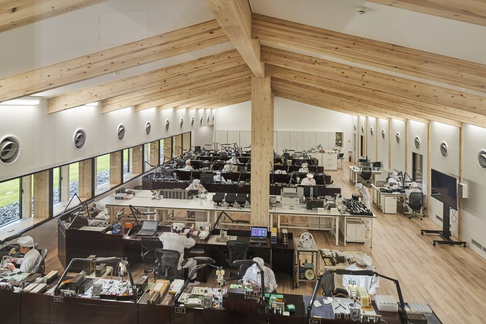 Japon : Grand Seiko ouvre un superbe studio dans la préfecture d'Iwate