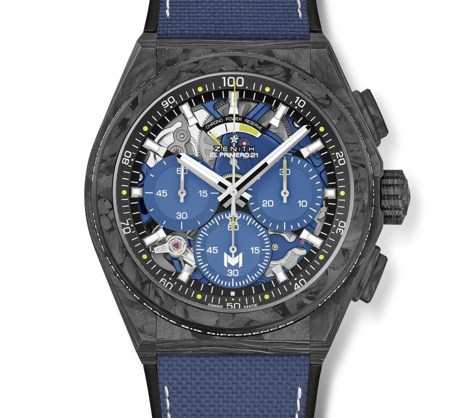 Zenith Defy 21 Zenith Ultimate Tennis Showdown Mouratoglou