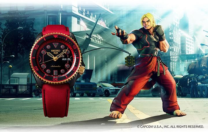 Seiko 5 Sports Street Fighter