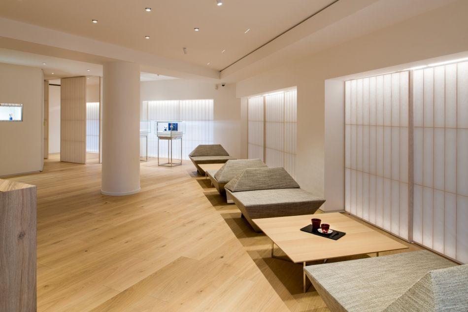 Ambiance zen chez Grand Seiko Paris