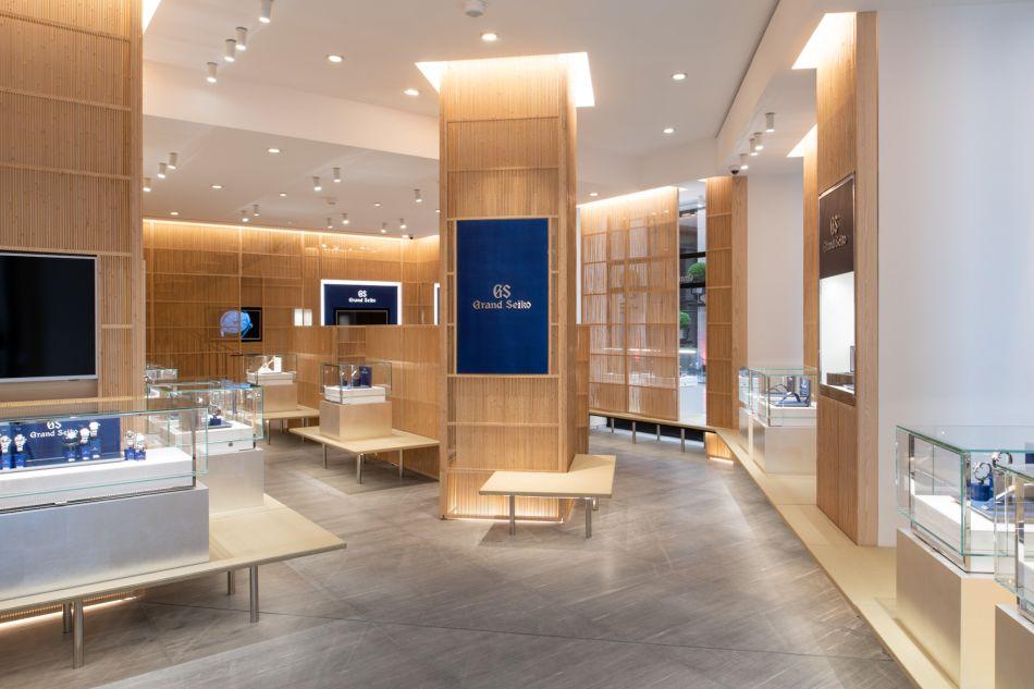 Grand Seiko : une splendide boutique sur la place Vendôme