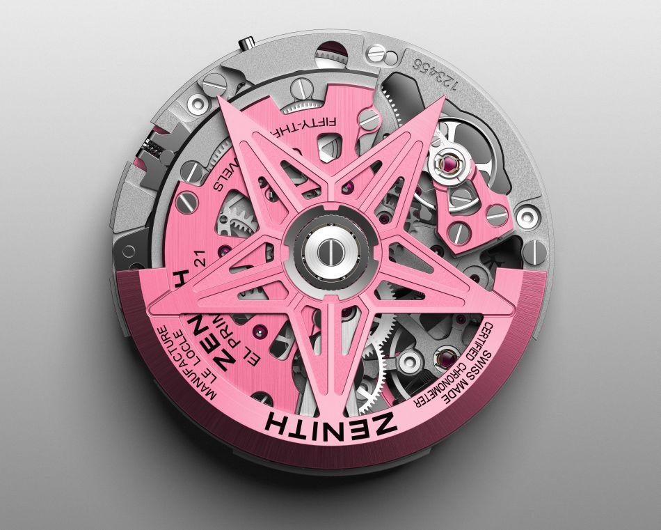 Zenith Defy 21 Pink Edition