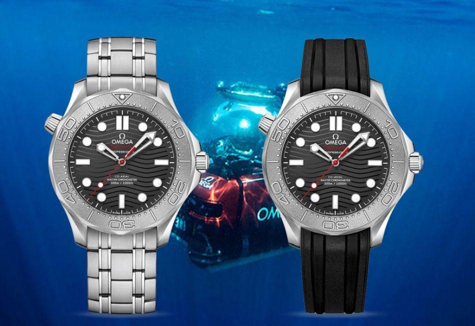 Omega Seamaster Diver 300M Edition Nekton : au secours des océans