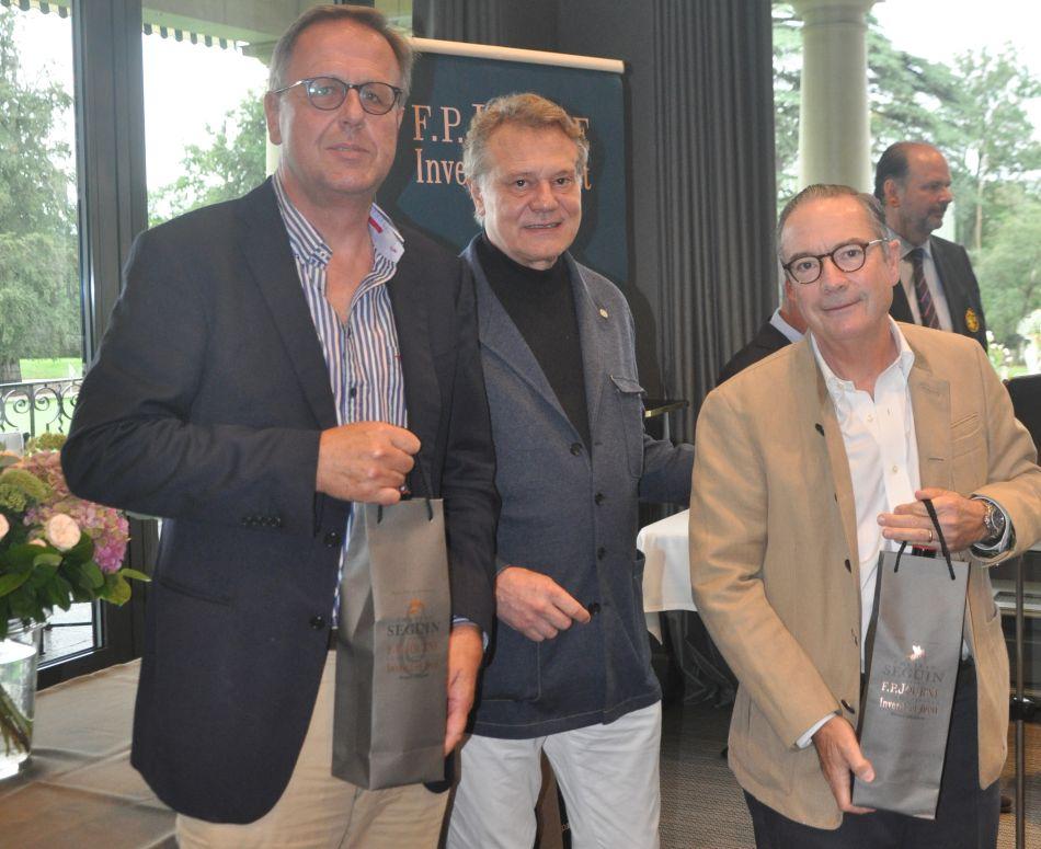 Eric Washer, F.P.Journe et Eric Heuzé.