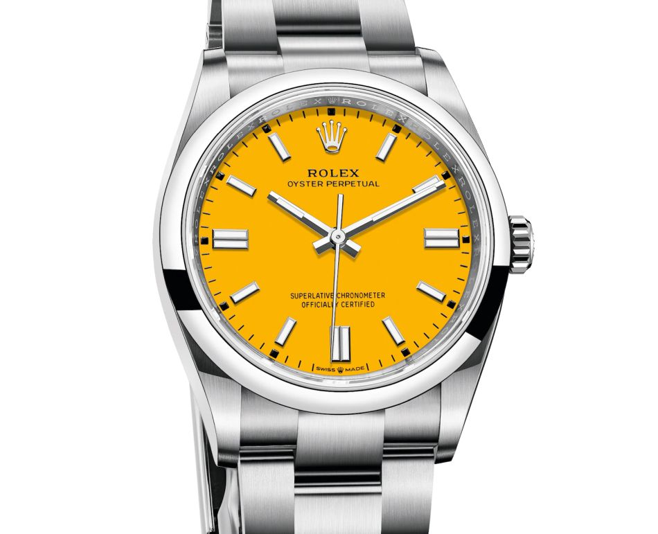 Rolex Oyster Perpetual : des couleurs et des heures