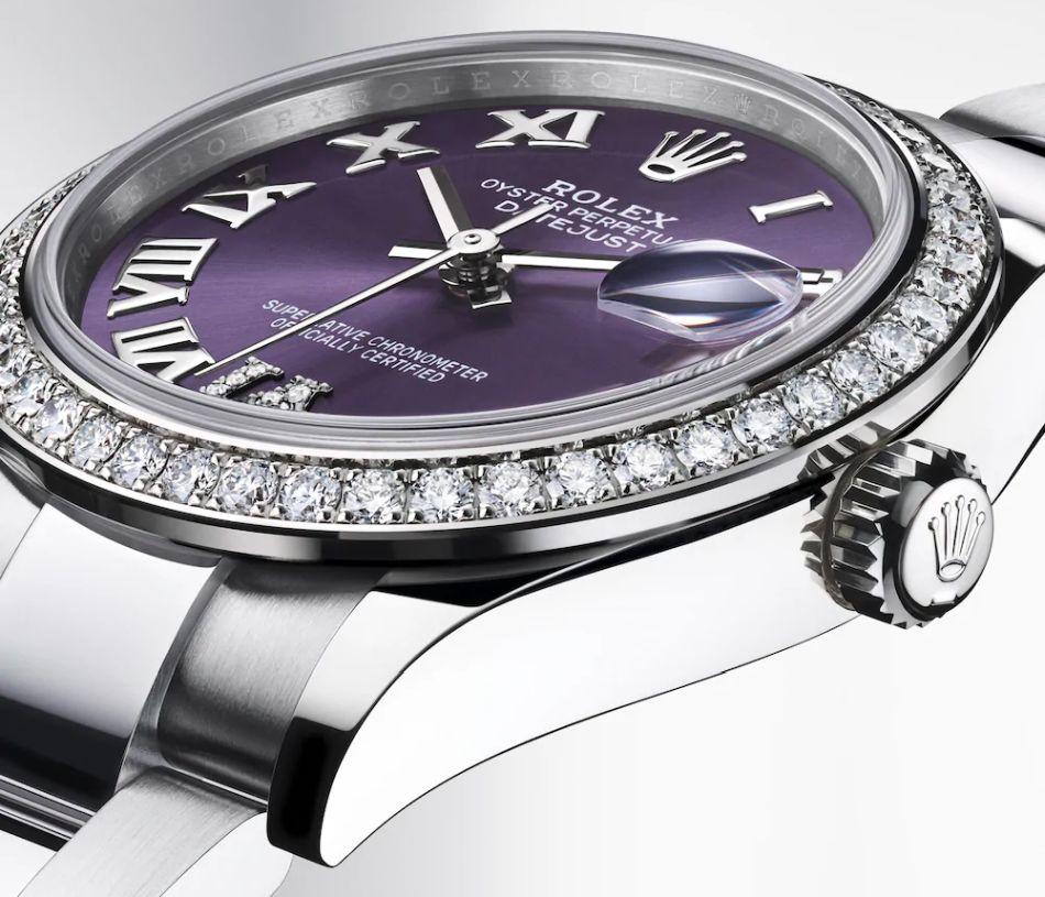 Rolex : la Datejust 31 se décline en Rolesor avec différentes versions de cadrans