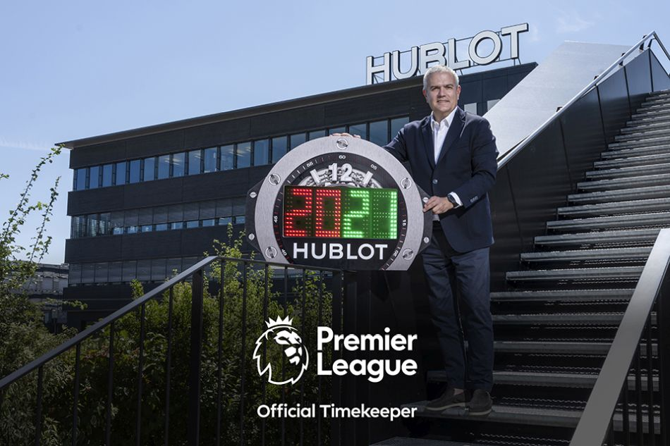 Hublot : chronométreur officiel de la Premier League