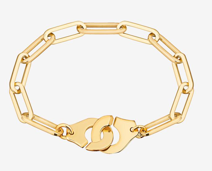 Bracelet or jaune Menottes Dinh Van