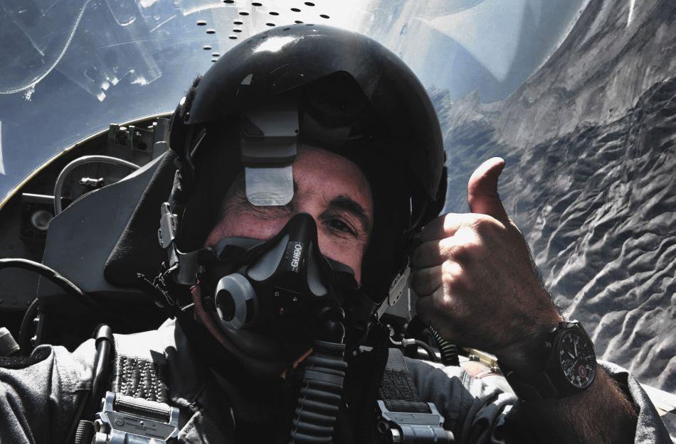 Interview du pilote de chasse TOPGUN Jim DiMatteo, ami d'IWC