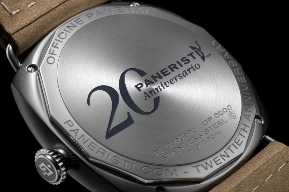 Panerai Radiomir Venti PAM 02020 : 1.020 exemplaires pour les 20 ans de Paneristi