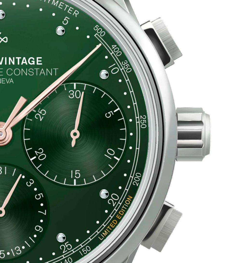 Frédérique Constant x About vintage : belle collab' autour du chrono flyback