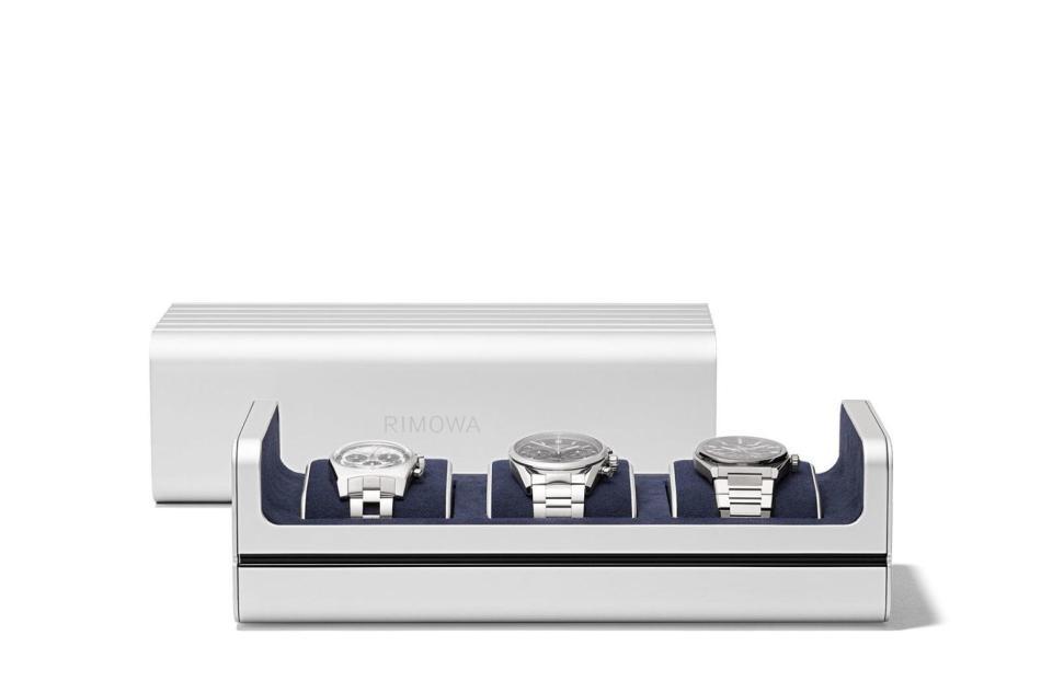 Coffret de rangement trois montres Rimowa