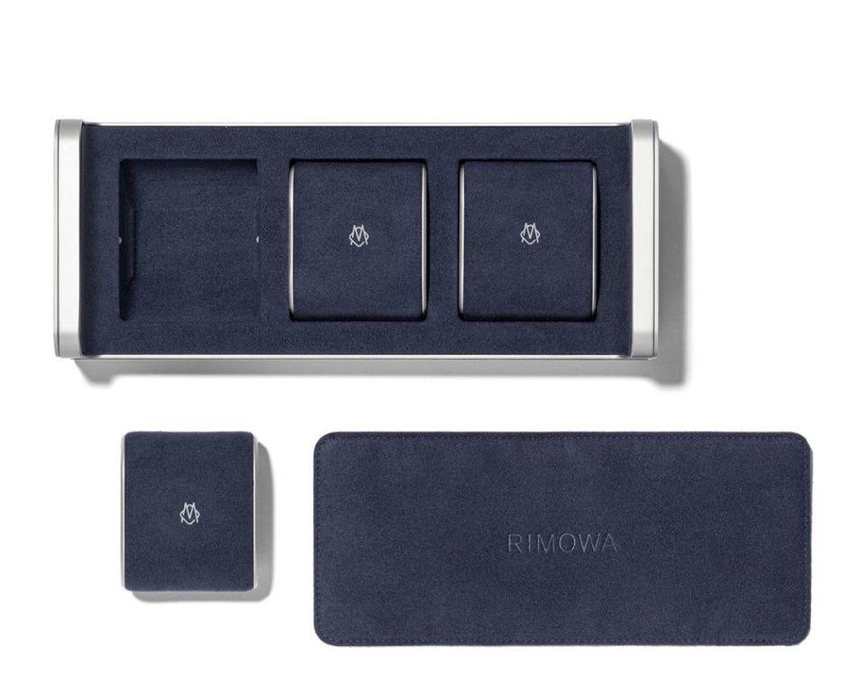 Rimowa présente une boite à montres en alu haut de gamme et... chère !