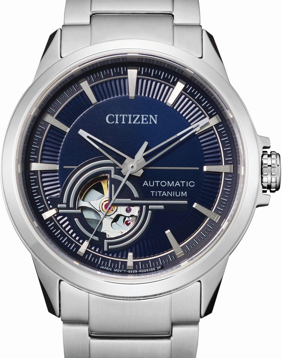 Citizen Super Titanium Automatique : une sportive horlogère dans l'entrée de gamme