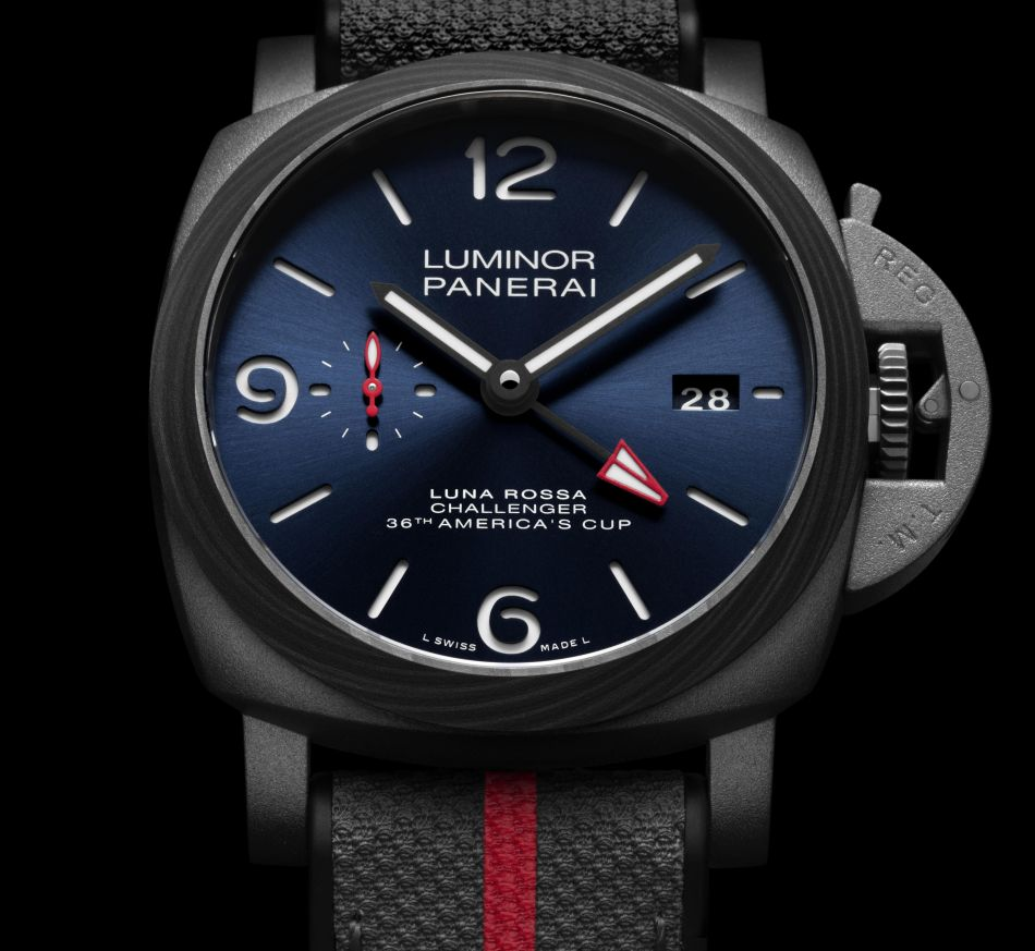 Panerai Luminor Luna Rossa GMT PAM01095