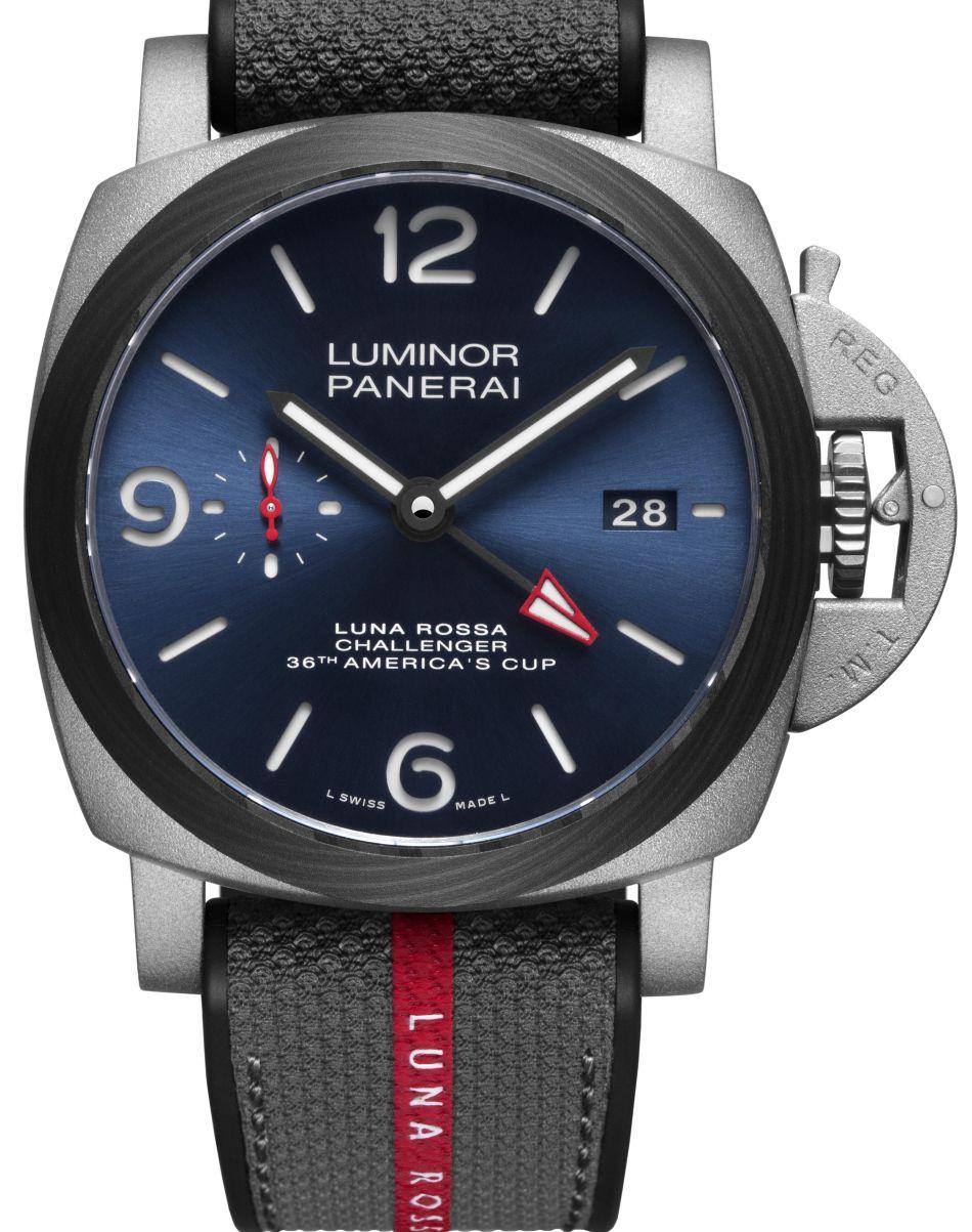 Panerai Luminor Luna Rossa GMT PAM01095 : 20 pièces pendant 24h