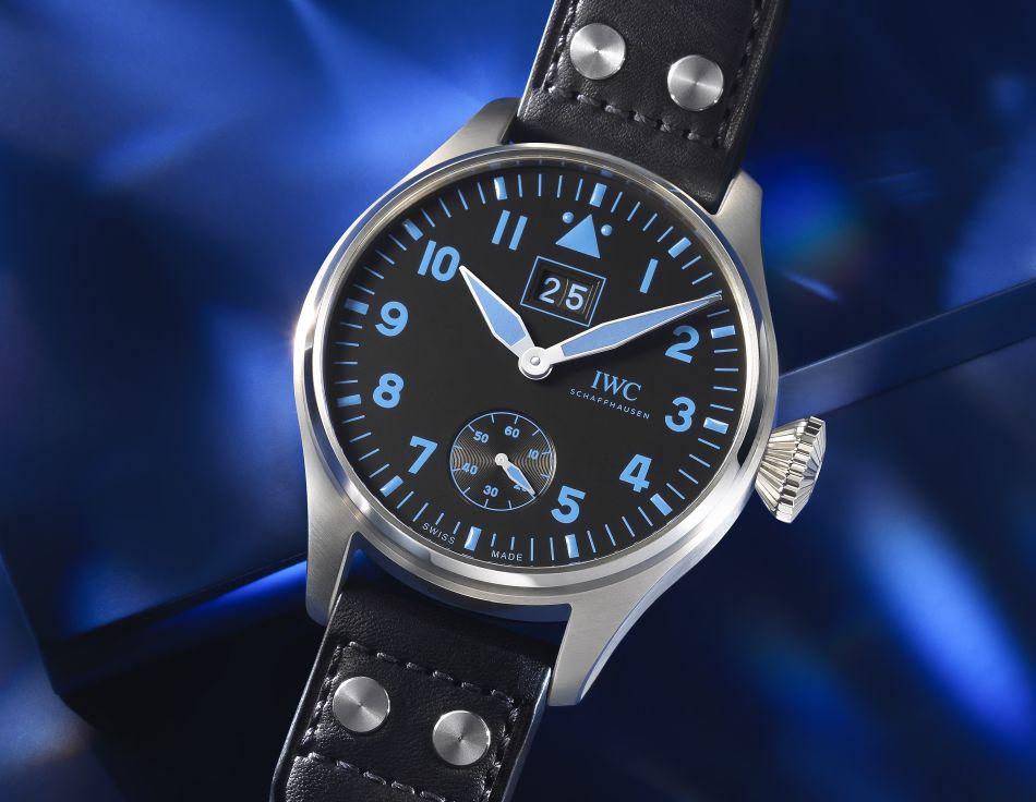 IWC Grande Montre d'Aviateur Grande Date Bucherer Blue