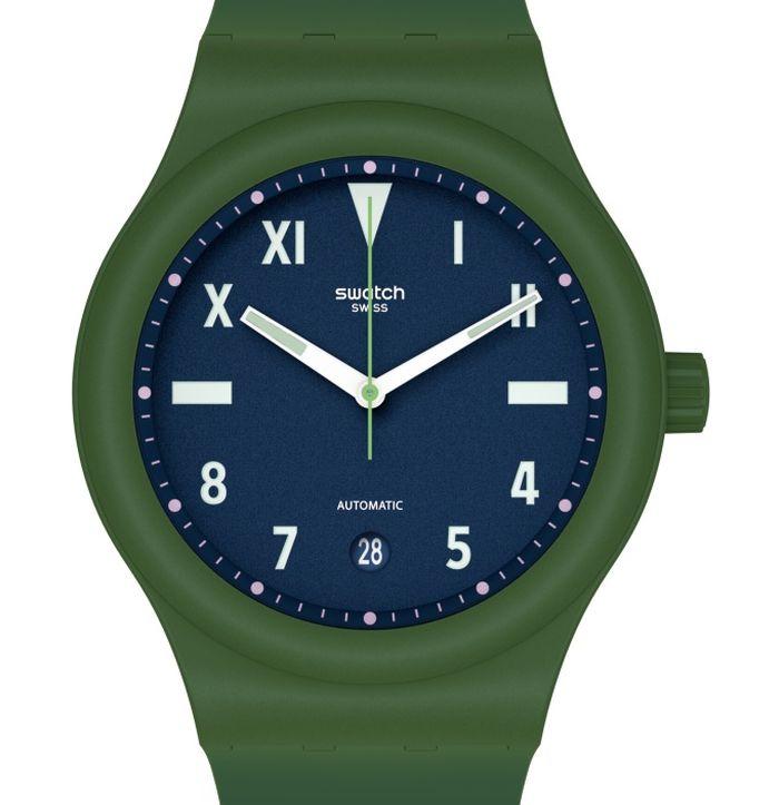 Swatch Sistem51 Hodinkee Generation 1990 : cadran California à l'honneur