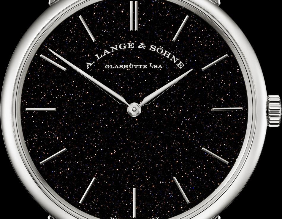 Lange & Söhne Saxonia plate : édition limitée à 50 exemplaires