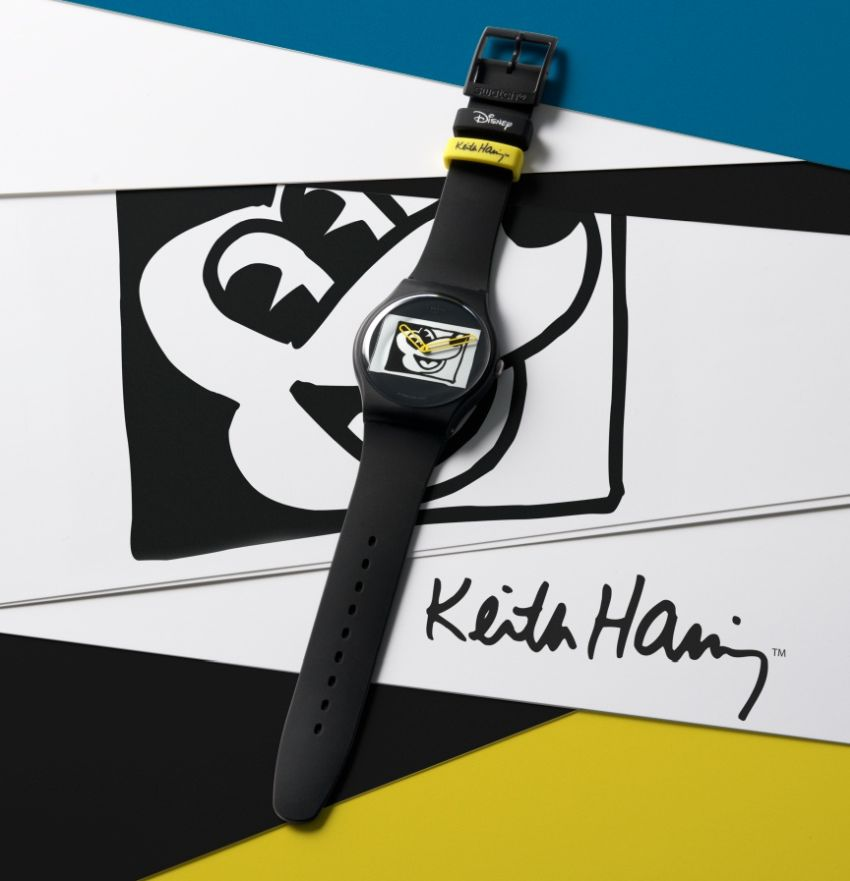 Swatch Mickey Mouse x Keith Haring : collectors en puissance