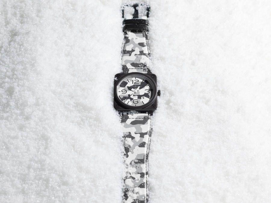 "Bell & Ross BR 03-92 White Camo : esprit ""chasseurs alpins"""