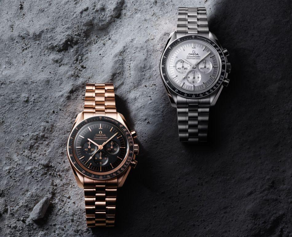 Omega Moonwatch Master Chronometer en or