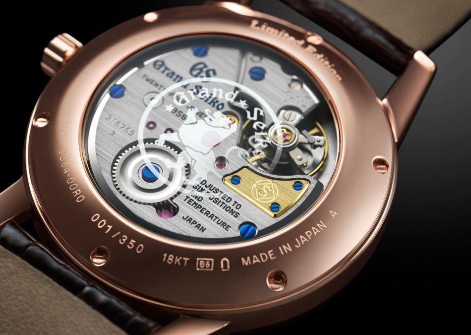 Grand Seiko : de l'or rose pour les 140 ans de la manufacture japonaise
