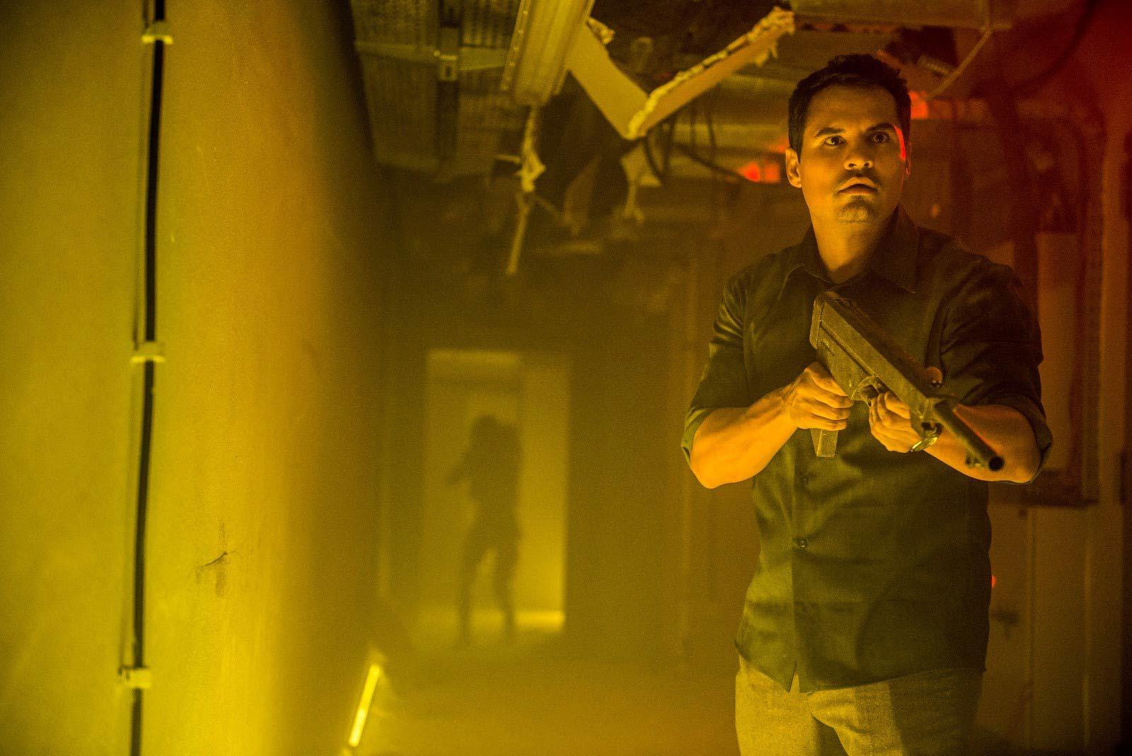 Extinction Michael Peña Copyright Netflix