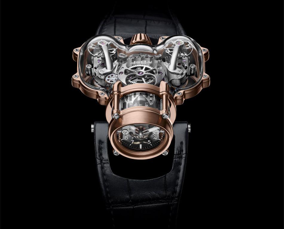 "MB&F Horological Machine N°9 ""Sapphire Vision"" : ovni horloger"