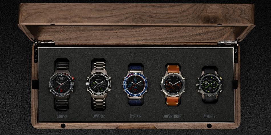 Garmin coffret 5 montres MARQ