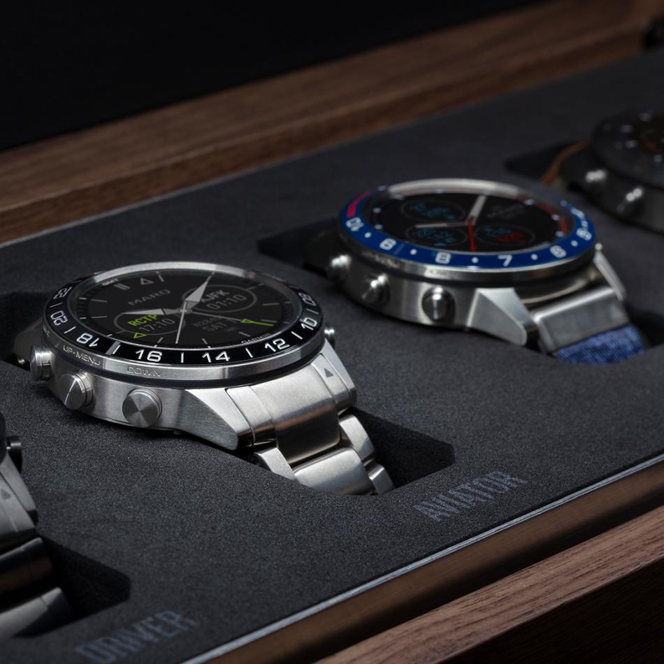 Garmin : le coffret collector des 5 montres MARQ en exclu chez Emile Leon à Paris