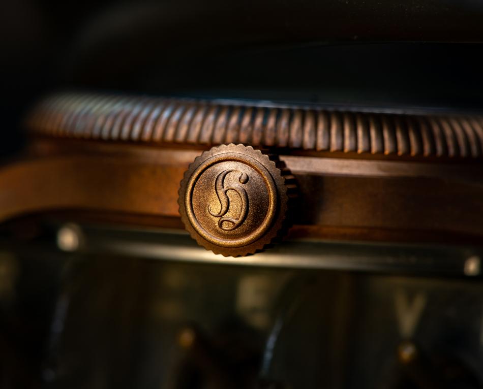 """Hanhart Pioneer One Bronze : une """"trois aiguilles"""" en série limitée à 150 exemplaires"""