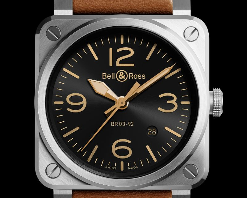 Bell & Ross BR 03-92 Golden Heritage : relifting