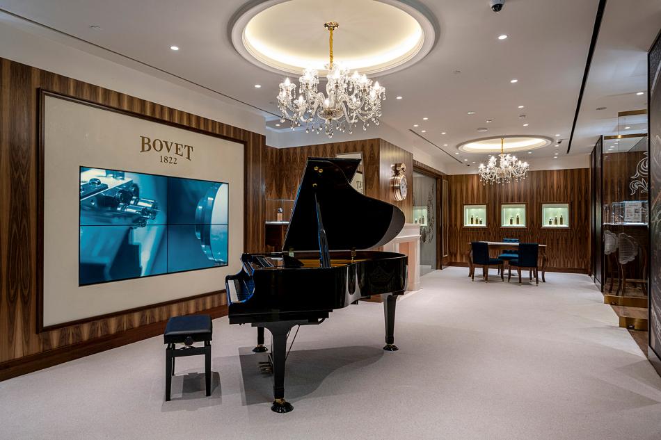 Bovet ouvre une boutique exclusive au sein de Marina Bay Sands à Singapour