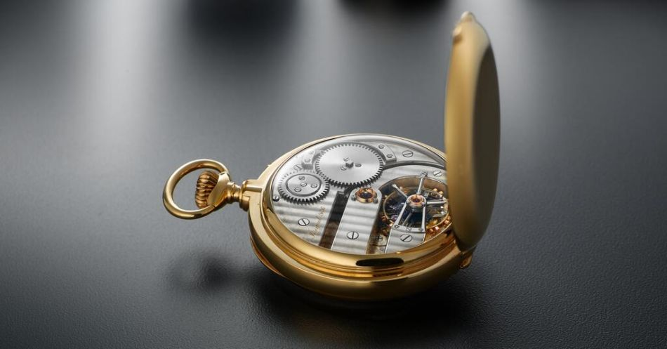 Breguet 986, garde-temps Tourbillon vendu en 1926 à M. Louis-Harrison Dulles